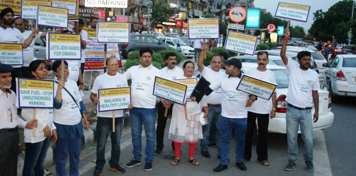 Dwarkites unite against encroachment and illegal parking